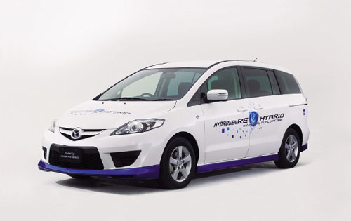 The Mazda Premacy RE will be unveiled in Tokyo this month