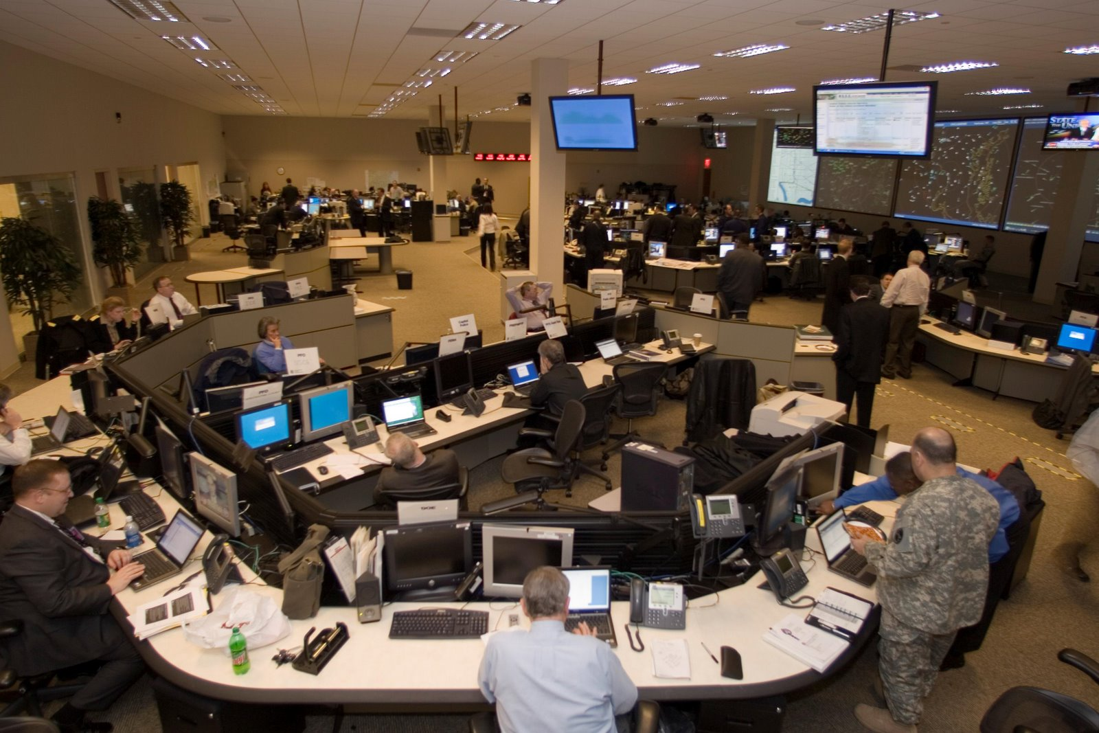 DHS Transportation Security Operations Center