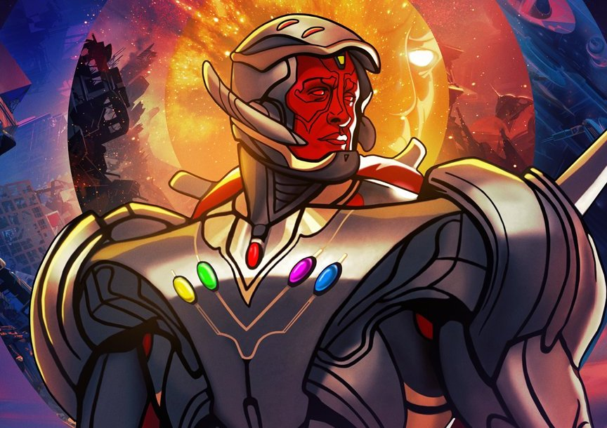 Vision-Ultron Marvel's What If... ?