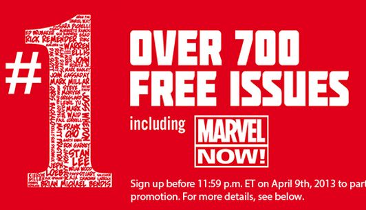 Last month's Marvel giveaway: not so heroic. Let's hope it fares better this time.