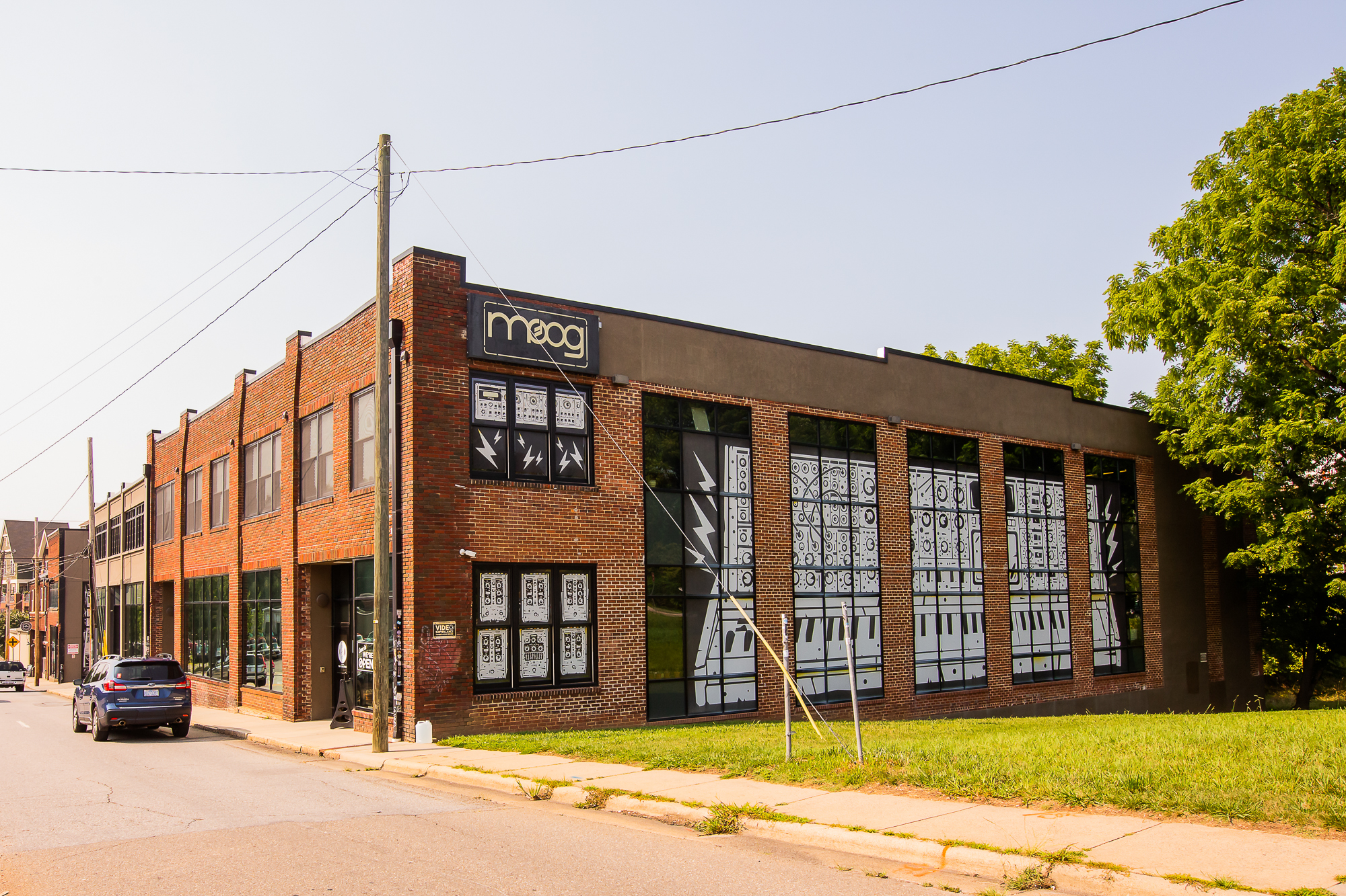 The Moog synthesizer factory in Asheville, North Carolina