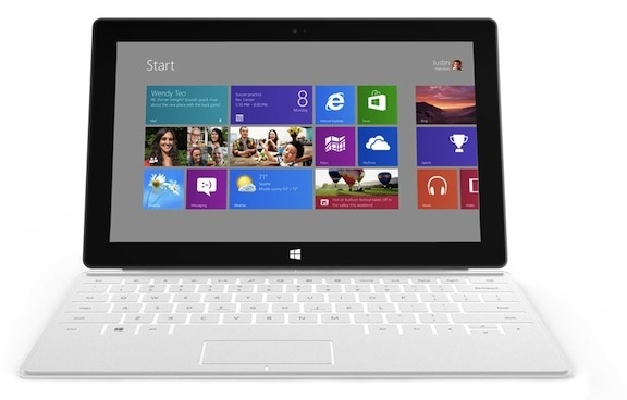 Microsoft is trying to address the popularity of non-traditional PCs with its upcoming Surface tablet.
