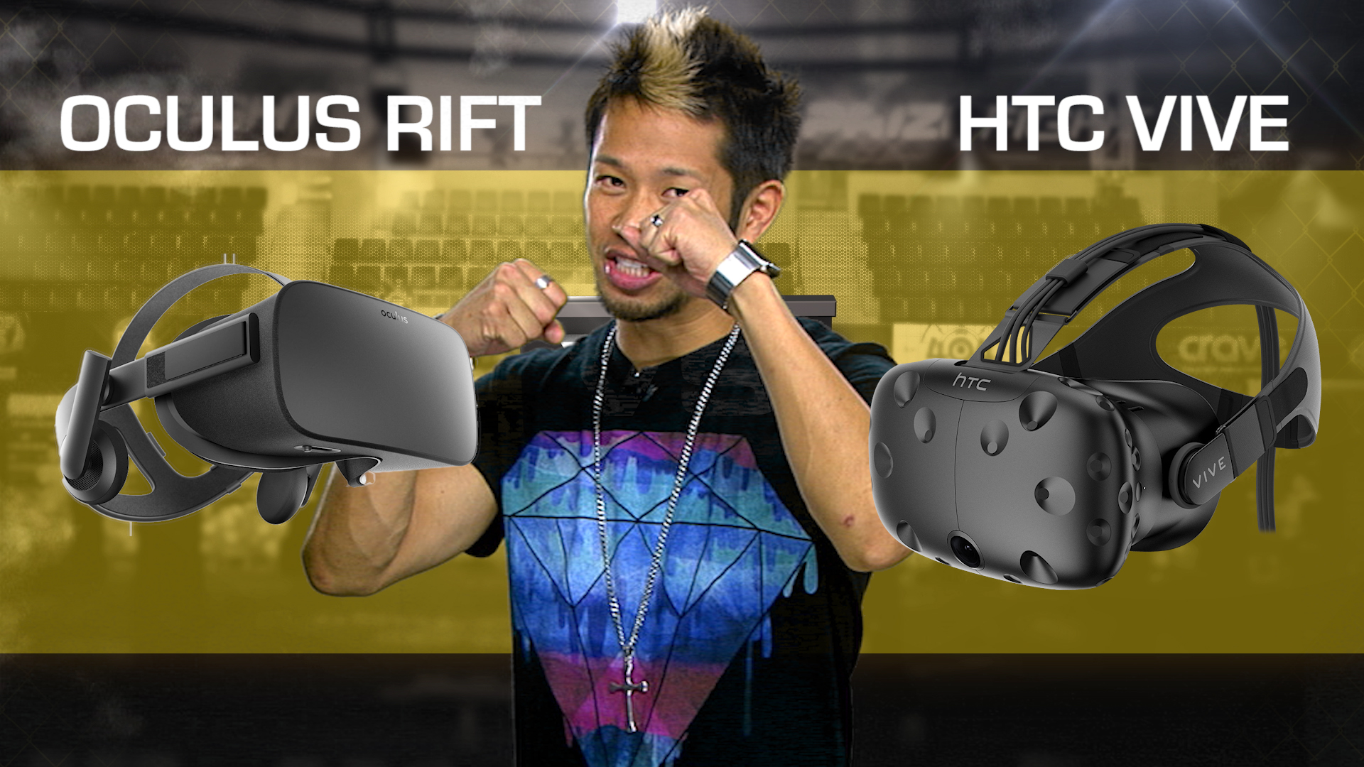 Video: Oculus Rift vs. HTC Vive