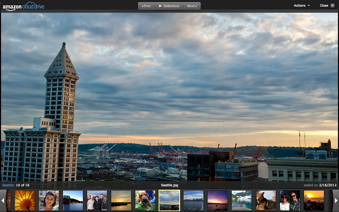 Amazon Cloud Drive's desktop app makes photo storage better integrated with a PC or Mac.