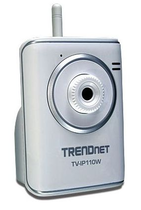 The TrendNet TV-IP110W mounts anywhere within range of your Wi-Fi router and beams live video to your laptop or phone.