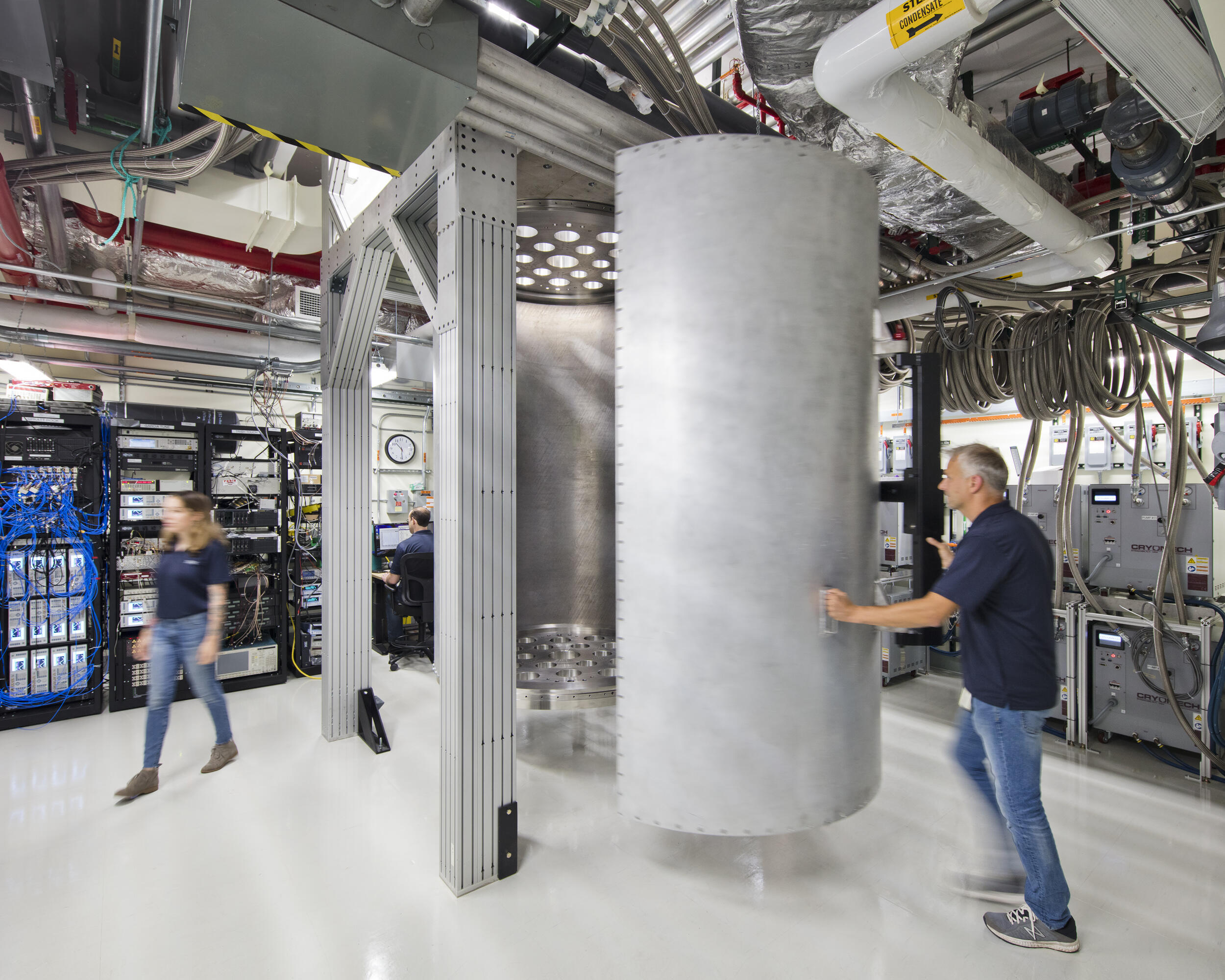 <p>IBM expects to improve quantum computers in part by making them much larger. This more spacious refrigeration chamber will to house them.</p>
