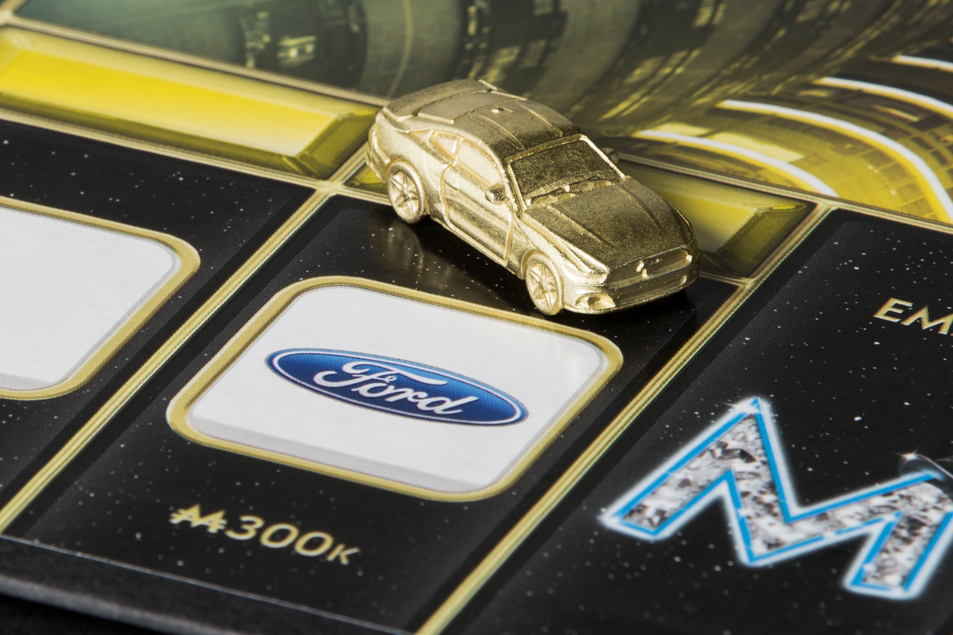 Ford Mustang Monopoly Token