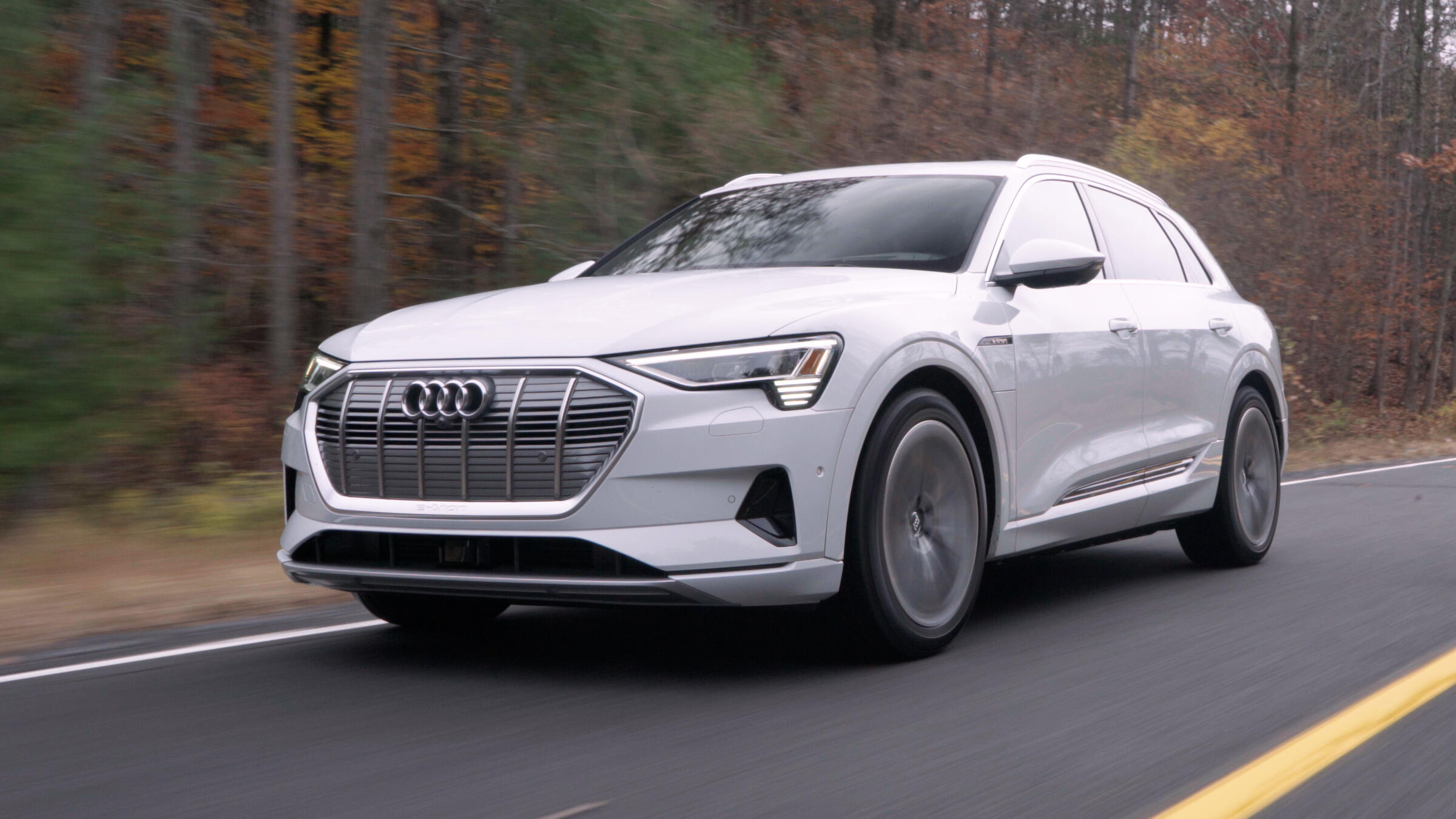 Video: Audi's E-Tron brings big, electric comfort to the road
