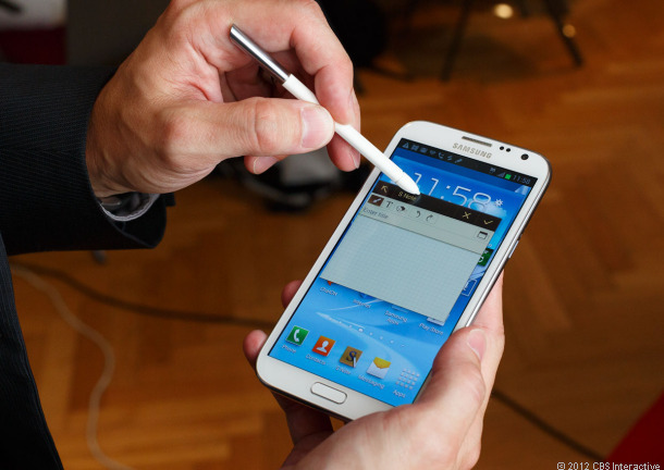Will the HTC One Max compete against Samsung's Galaxy Note?
