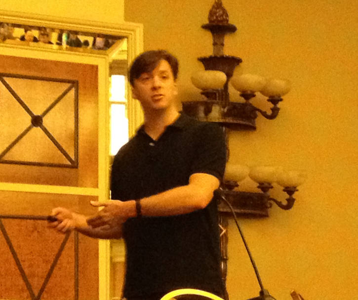Elusive Apple security specialist Dallas De Atley teases Black Hat attendees with a primer on the security in iOS.