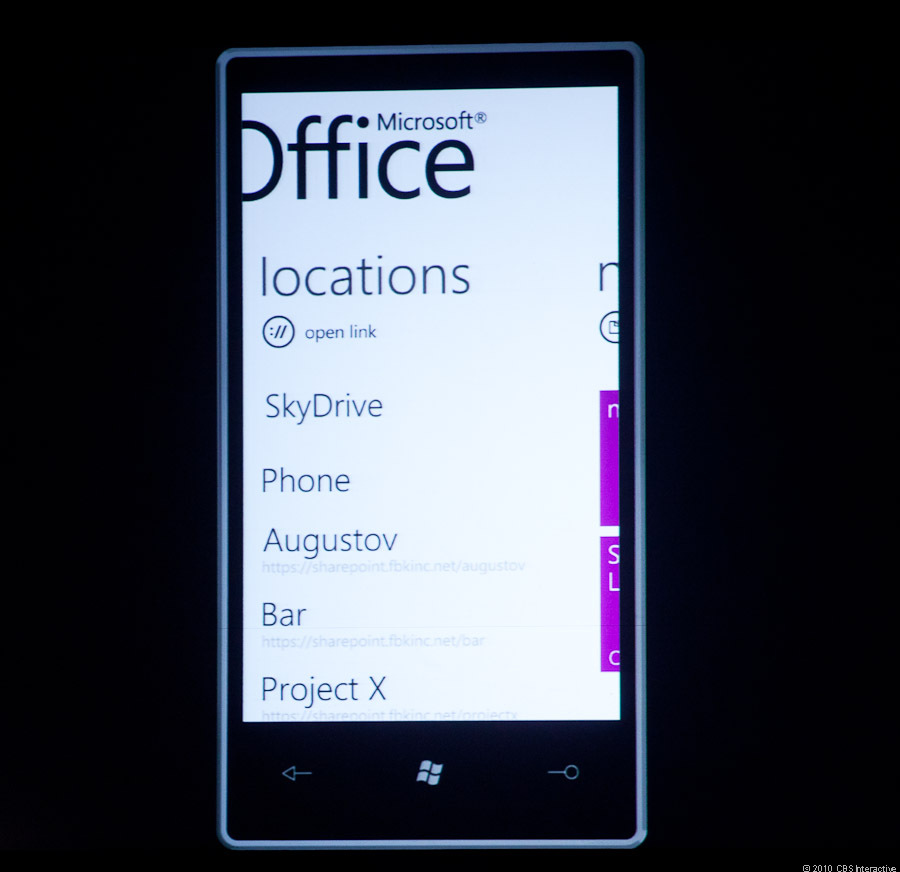 Skydrive integration coming to Windows Phone 7