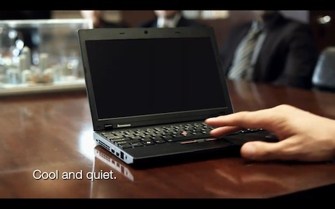 Lenovo's 11.6-inch ThinkPad X120e looks like a Netbook but, like the 11.6-inch MacBook Air, offers better performance.