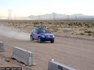 'Stanley,' devised by Sebastian Thrun and his team from Stanford, won the DARPA Grand Challenge in 2005.