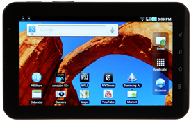 Samsung is upgrading its Galaxy Tab and several Galaxy smartphones to Gingerbread.