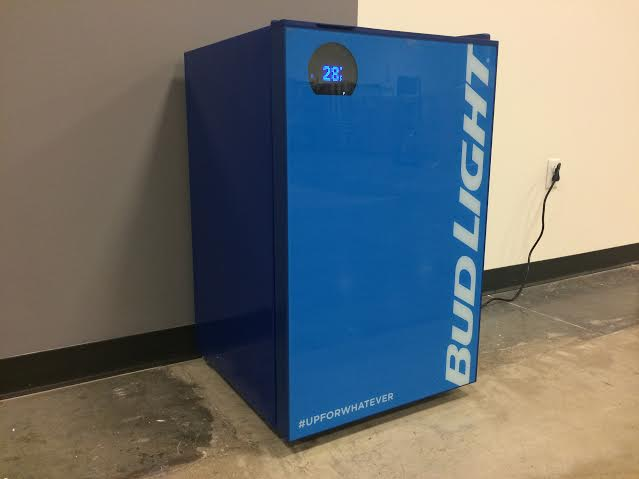 Bud-E smart beer fridge