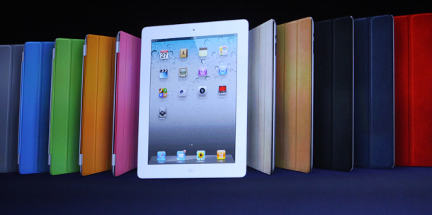 An army of Apple iPads.