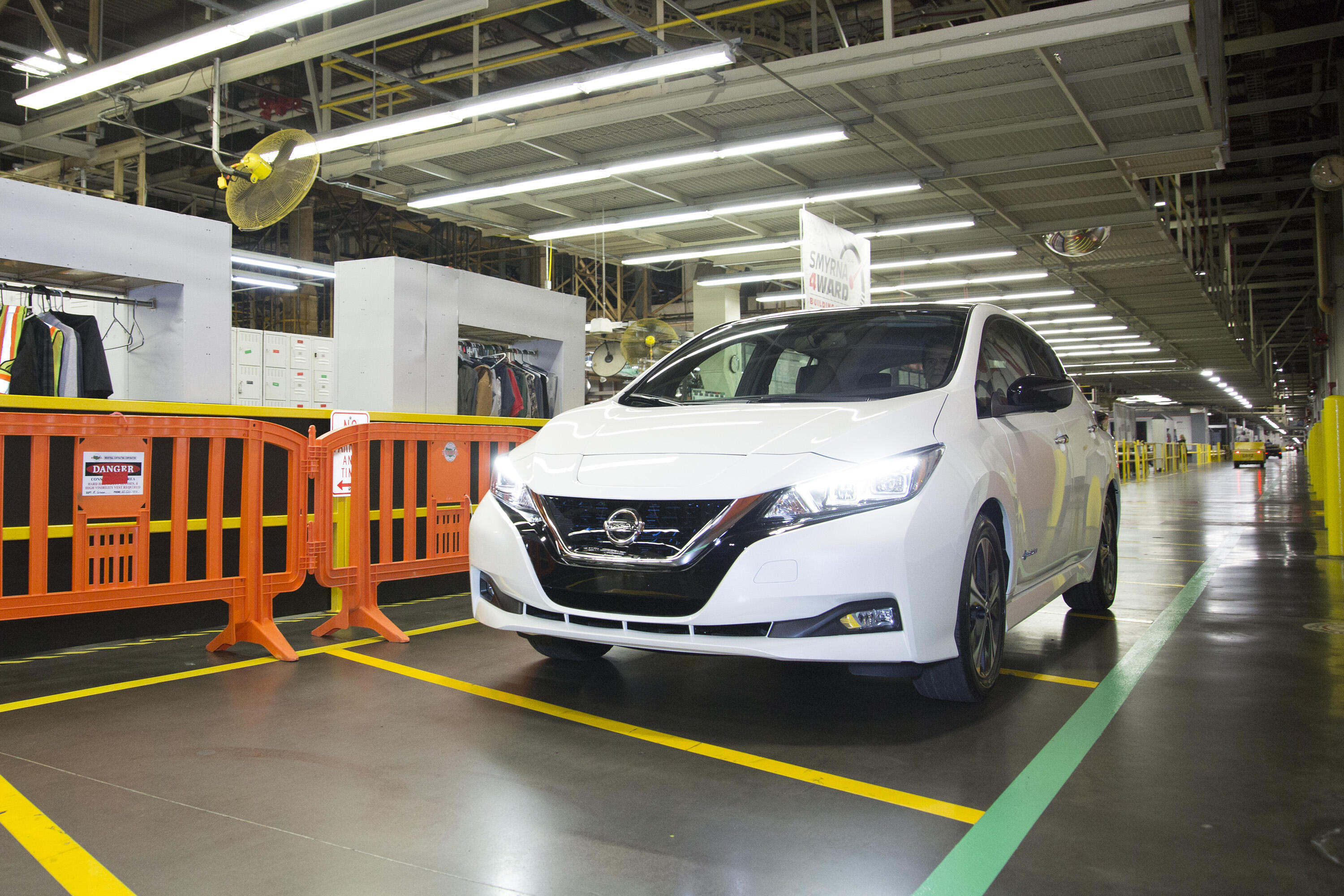 Nissan Leaf production in Tennessee