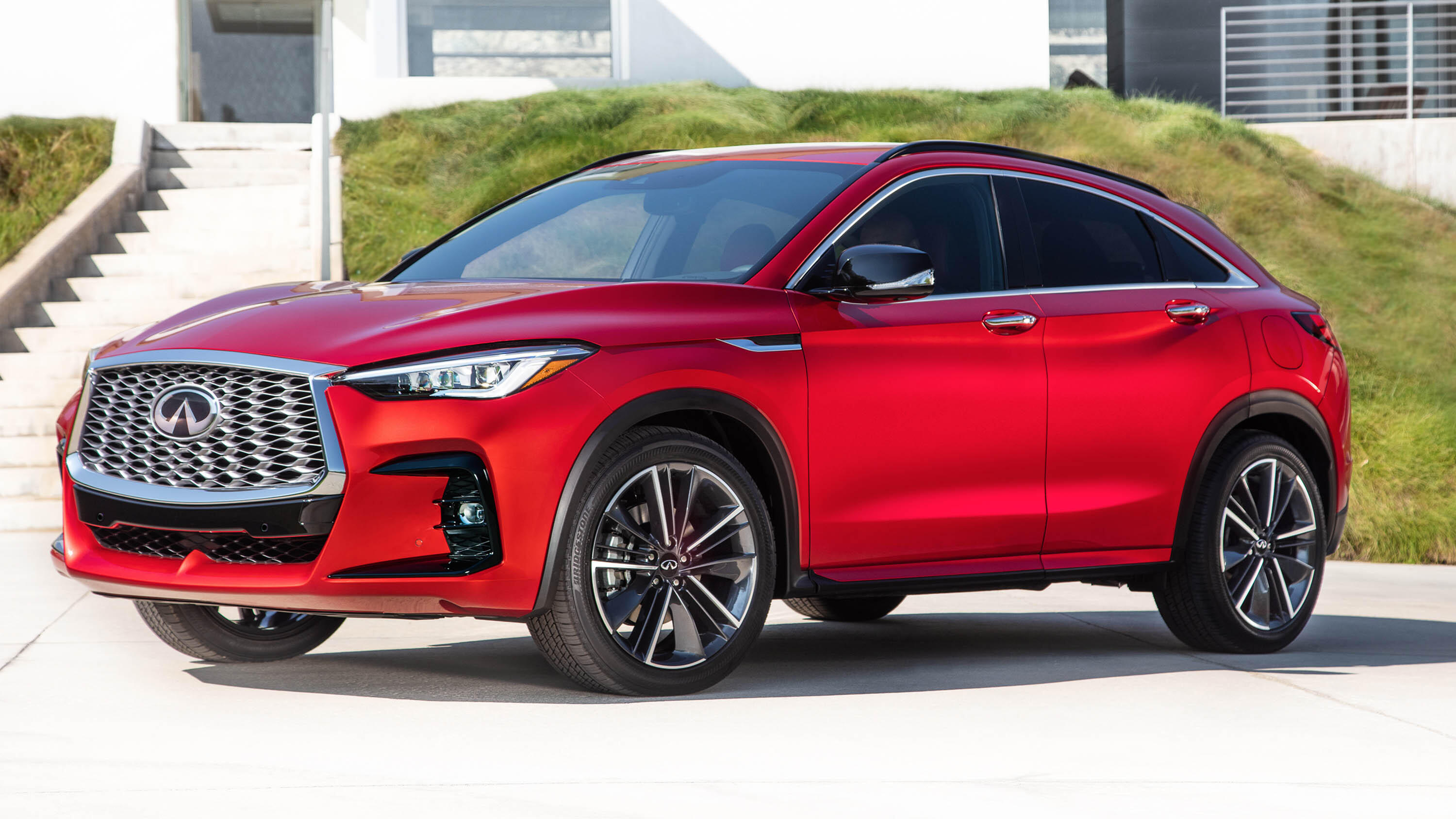 Video: Infiniti joins the coupe-like SUV segment with 2022 QX55