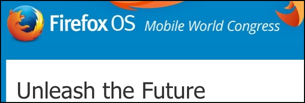 Firefox OS invite for MWC 2014