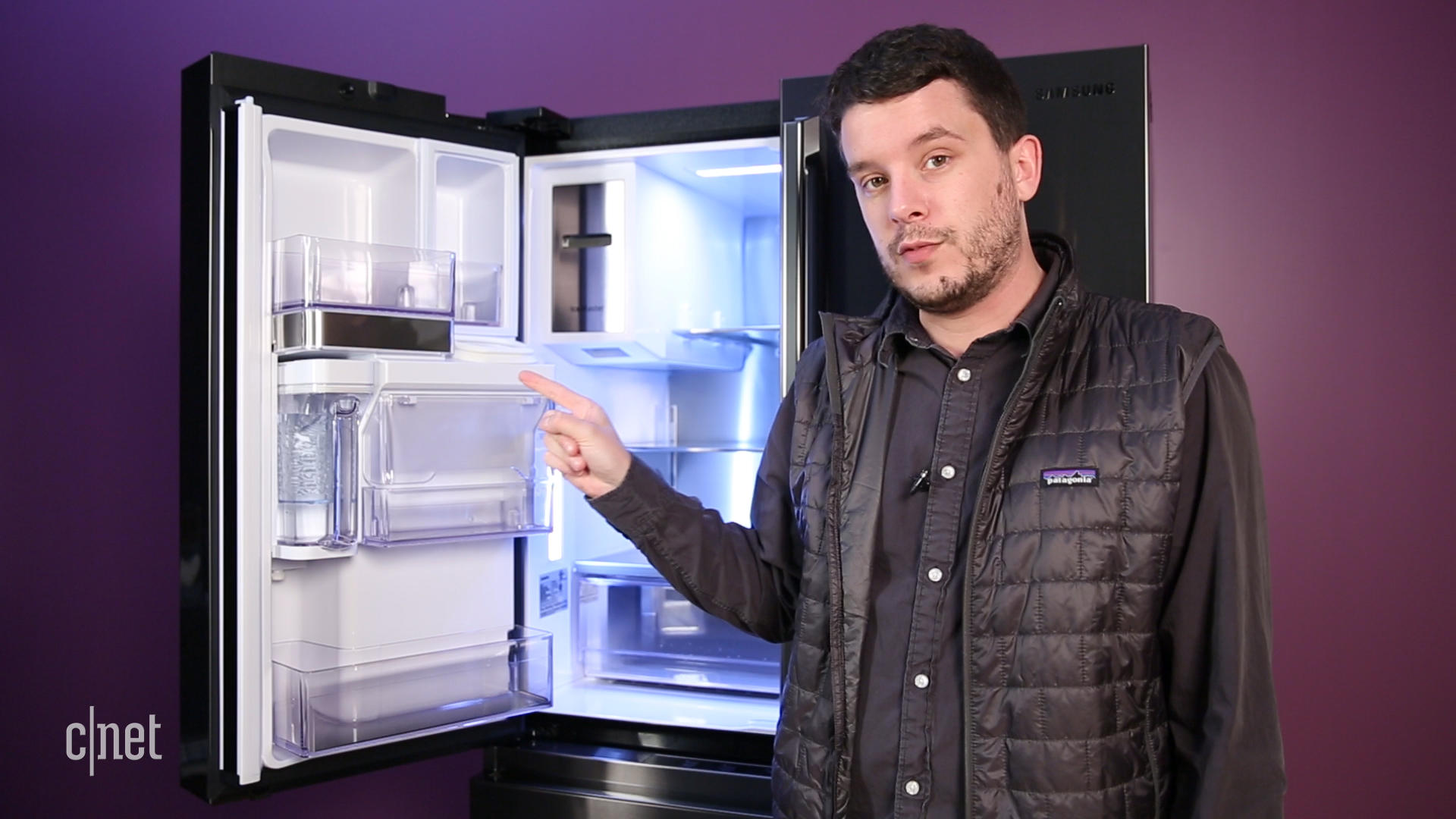 Video: Samsung killed the salsa moat in its best French door fridge to date
