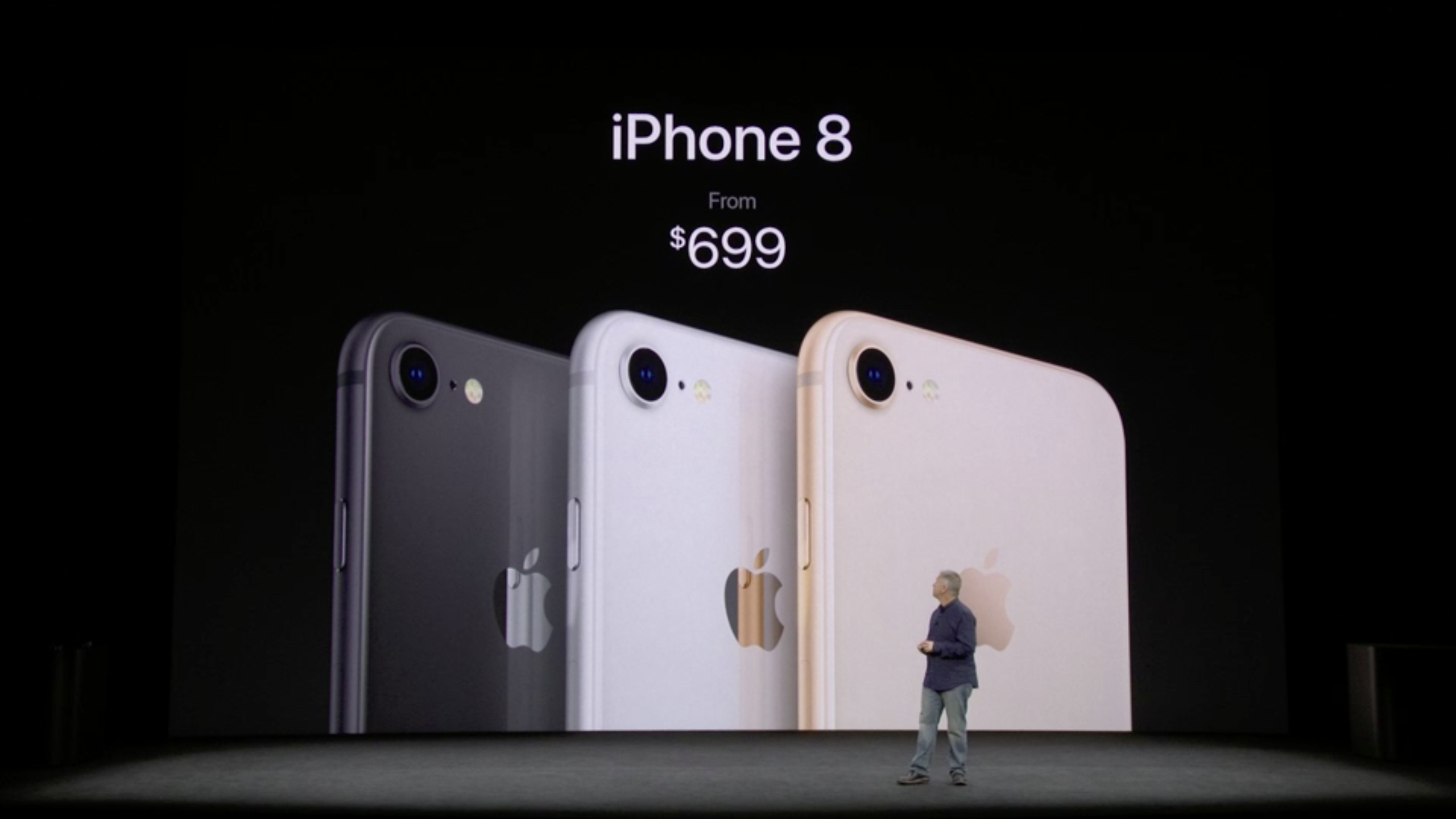 Apple iPhone 8 and iPhone 8 Plus Cupertino Event September 12, 2017