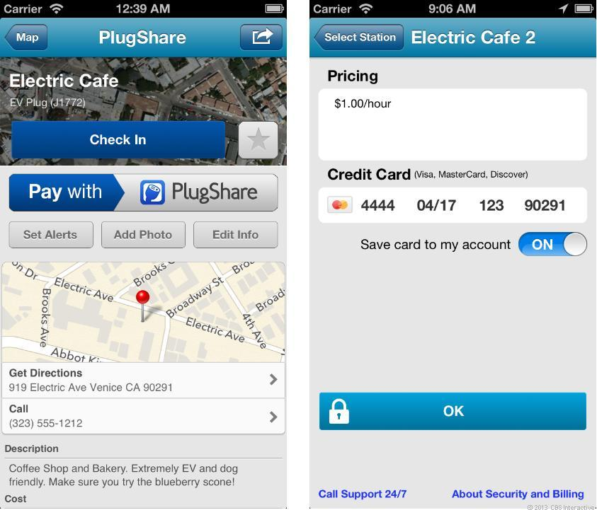Pay with PlugShare