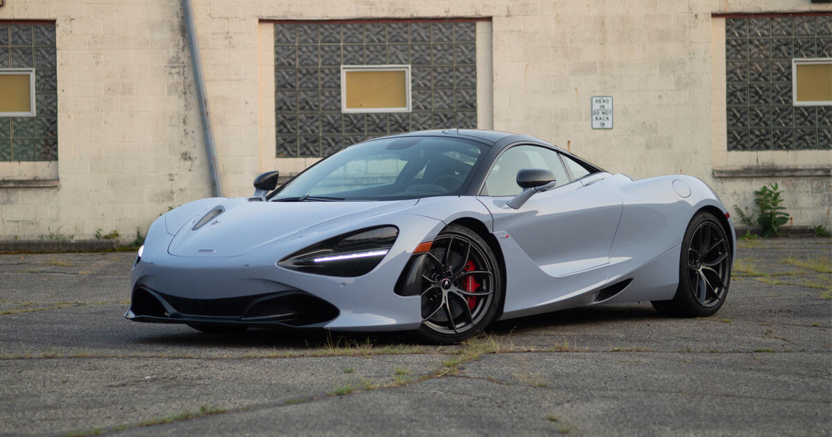 2021 McLaren 720S review: A sublime supercar     - Roadshow