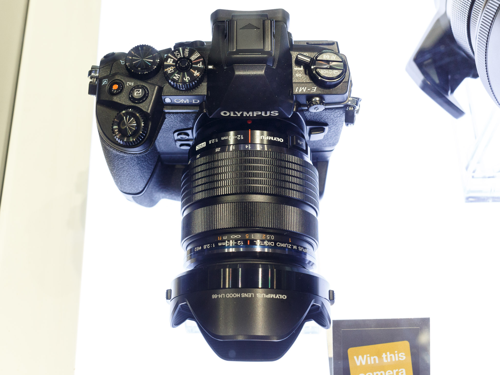The OM-D E-M1 is the flagship of Olympus' mirrorless camera fleet.