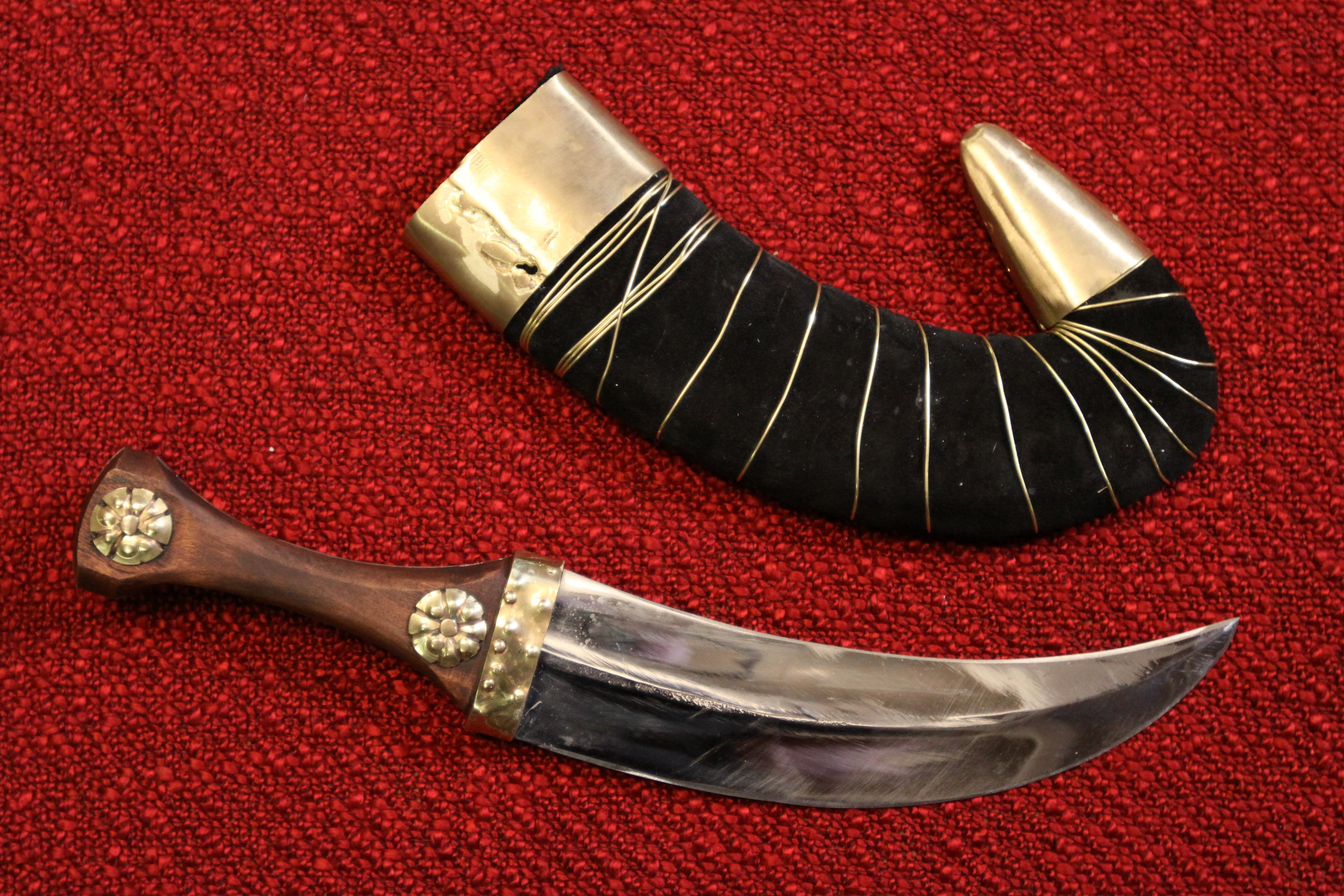 Lawrence of Arabia's Jambia knife
