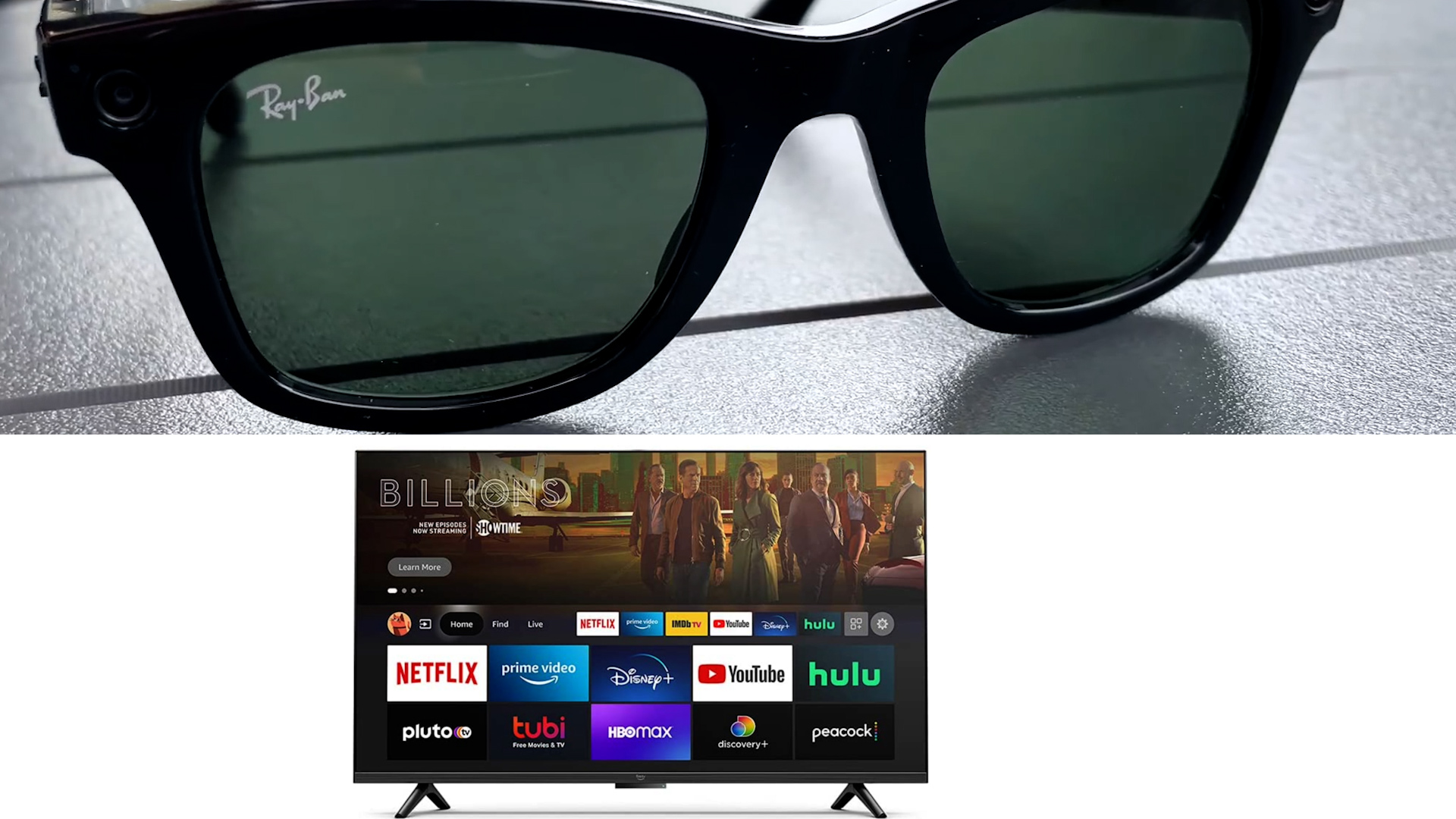 Video: Amazon-branded TVs coming soon, Facebook's smart glasses get official