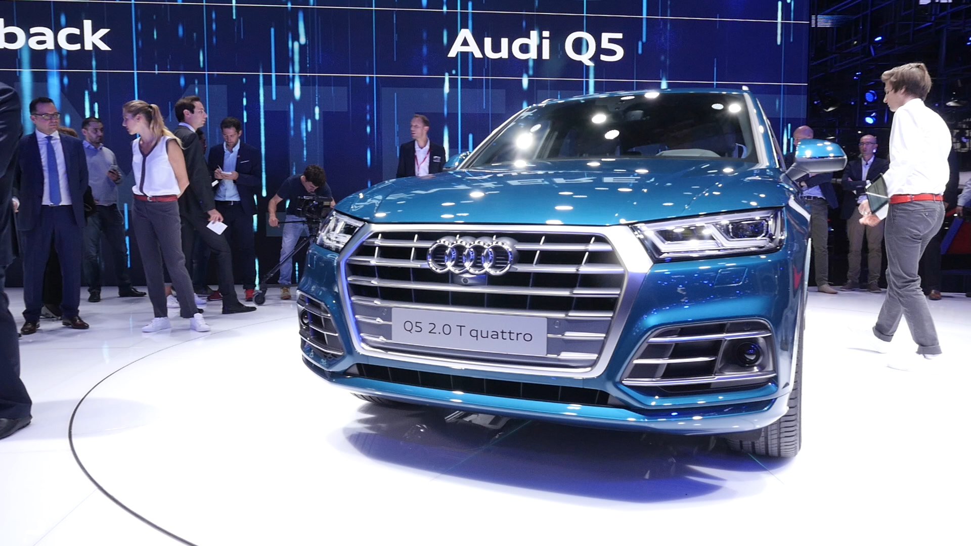 Video: 2018 Audi Q5 vastly improves looks, tech offerings