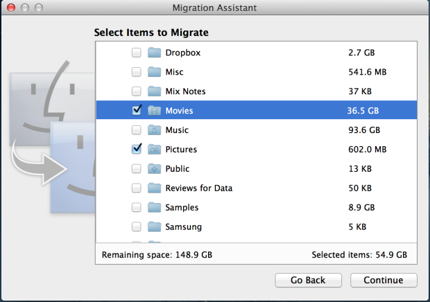 How to transfer data between Macs: 7