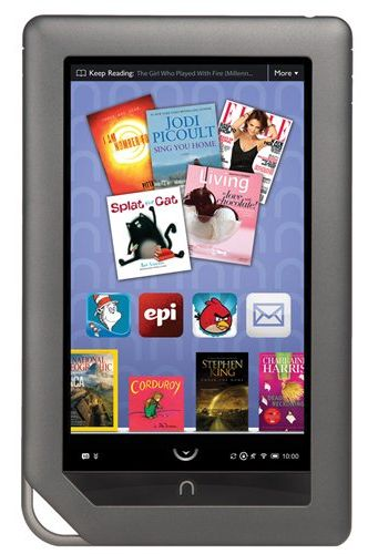 Too good to be true: a Nook Color e-reader/tablet for $169 shipped.