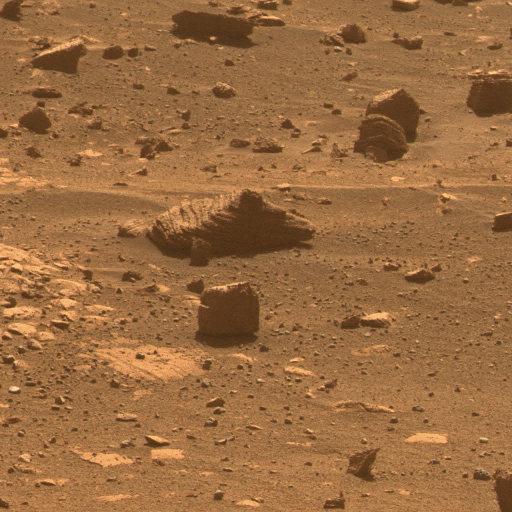 First Image from a Mars Rover Choosing a Target