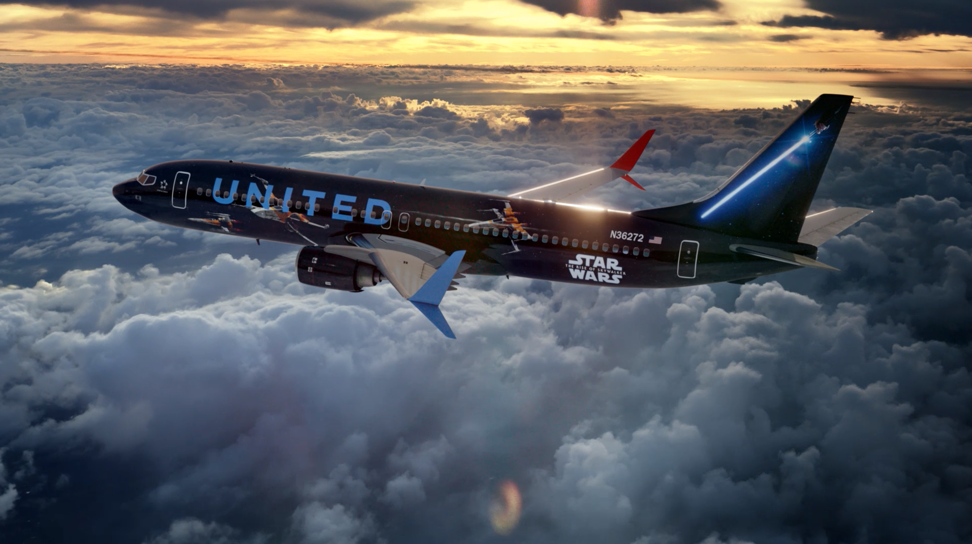 Star Wars United Airlines
