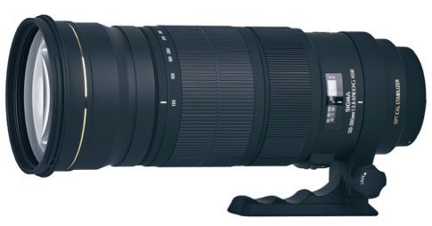 Sigma's upcoming 120-300mm telephoto lens