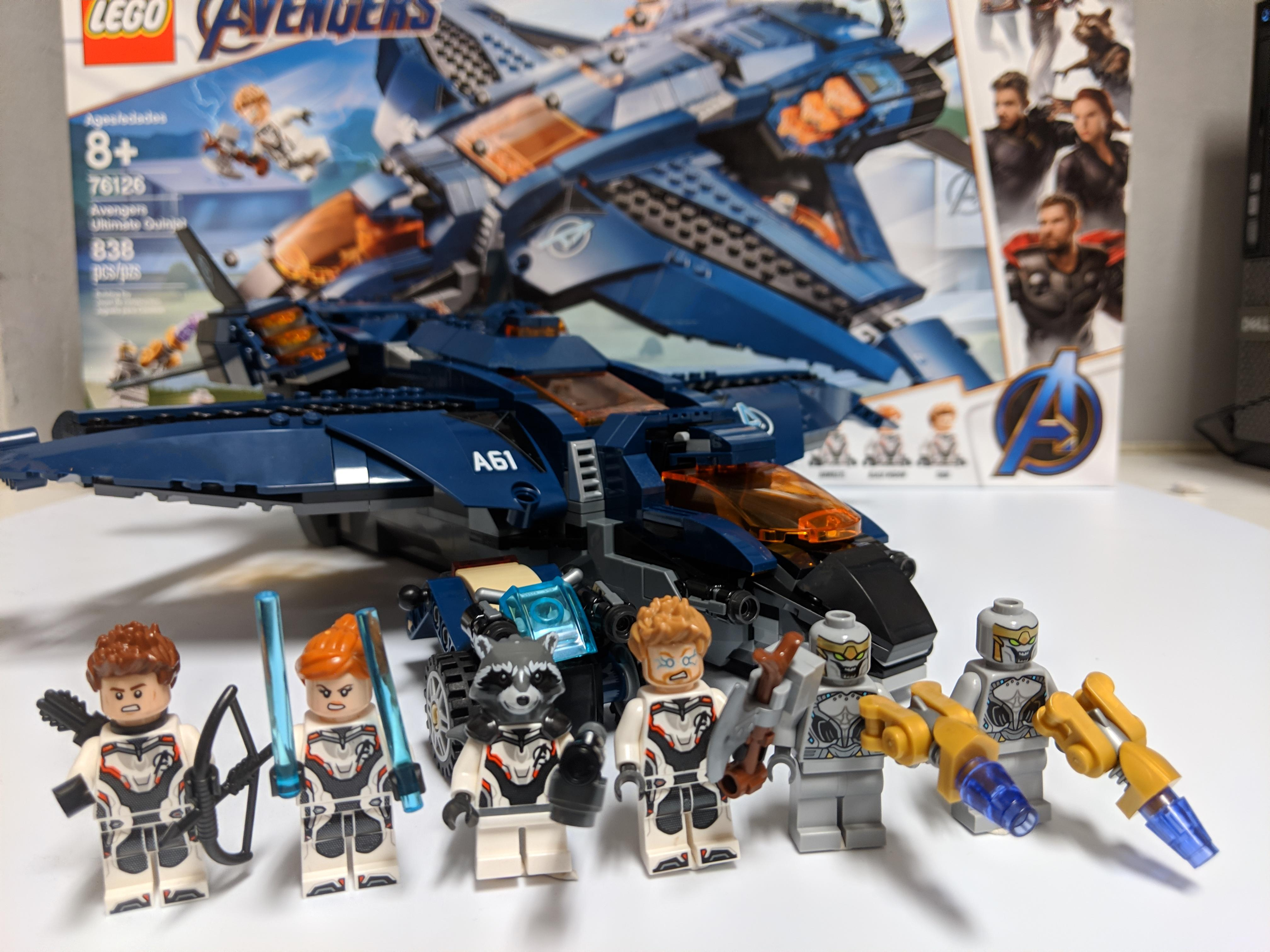 Lego Ultimate Quinjet