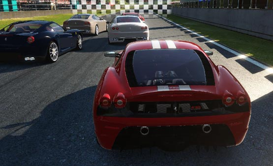 Ferrari is offering a free downloadable racing video game for PC