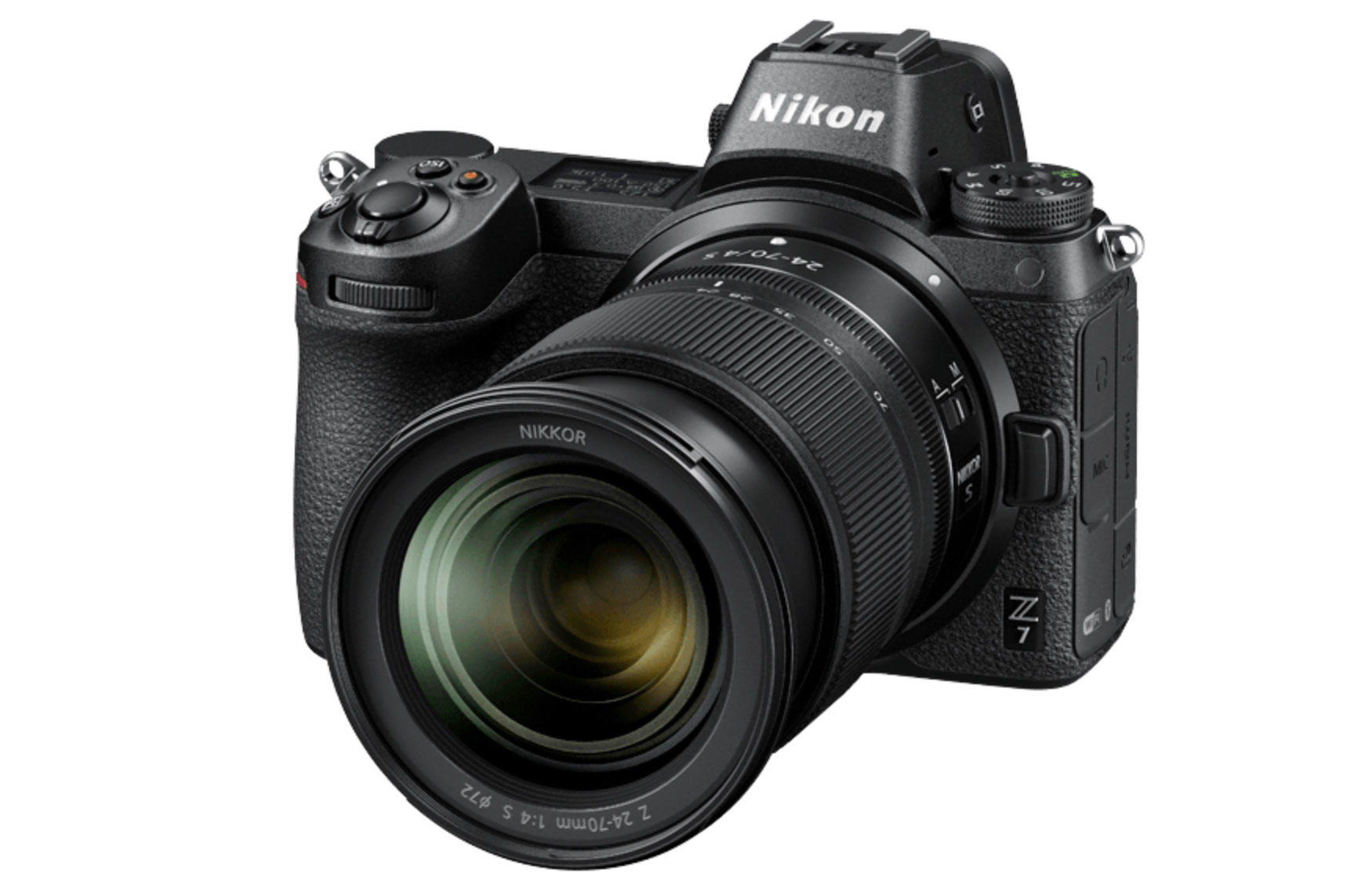 Nikon's $3,400 Z7 looks similar to traditional DSLR cameras but dumps the internal mirror in a move to a more purely digital design.