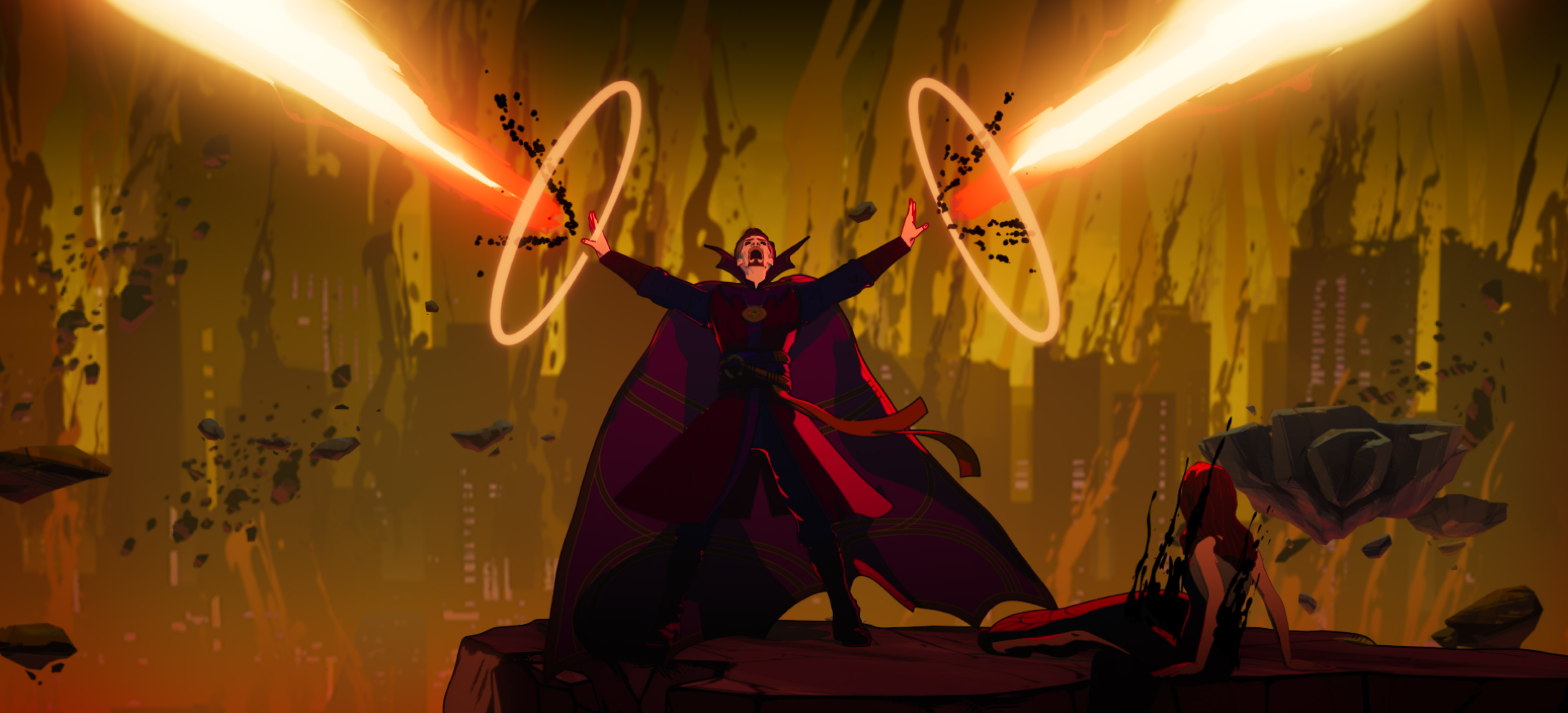 What If... ? episode 4 recap: Doctor Strange goes down a dark path to become Supreme - CNET