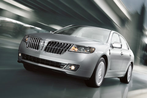 The 2012 Lincoln MKZ Hybrid, which retails for the same price as its conventional gasoline engine-only twin.