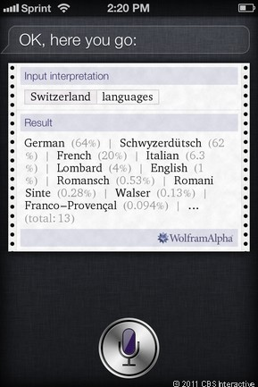 What is the national language of Switzerland?