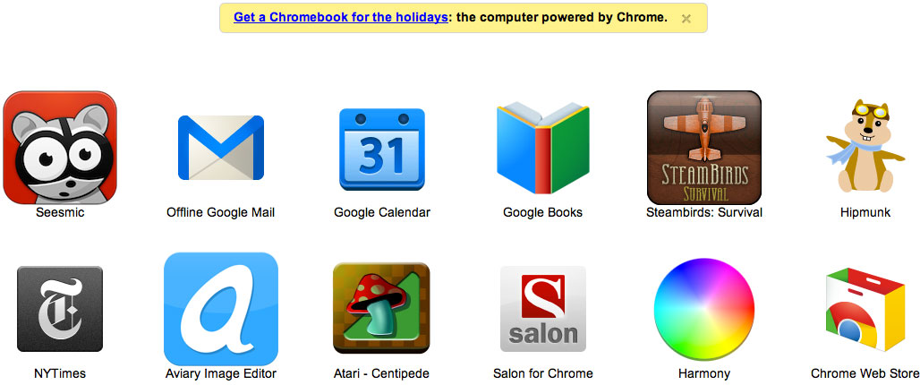 Google has begun adding its own ads to Chrome's new-tab page.
