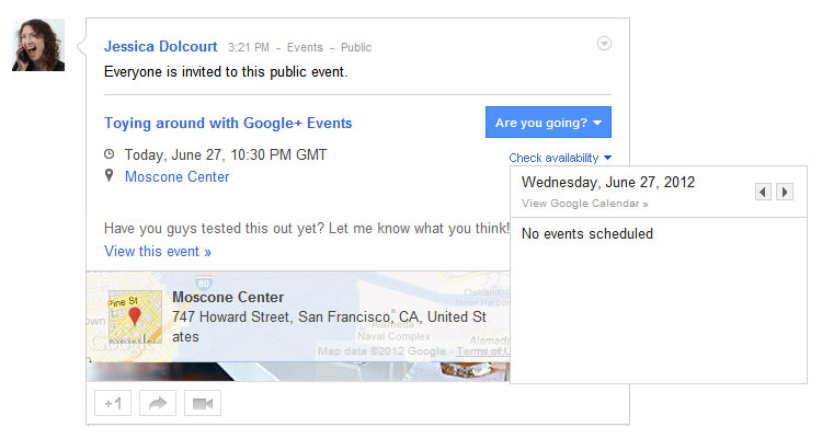 How to RSVP for an Google Event.