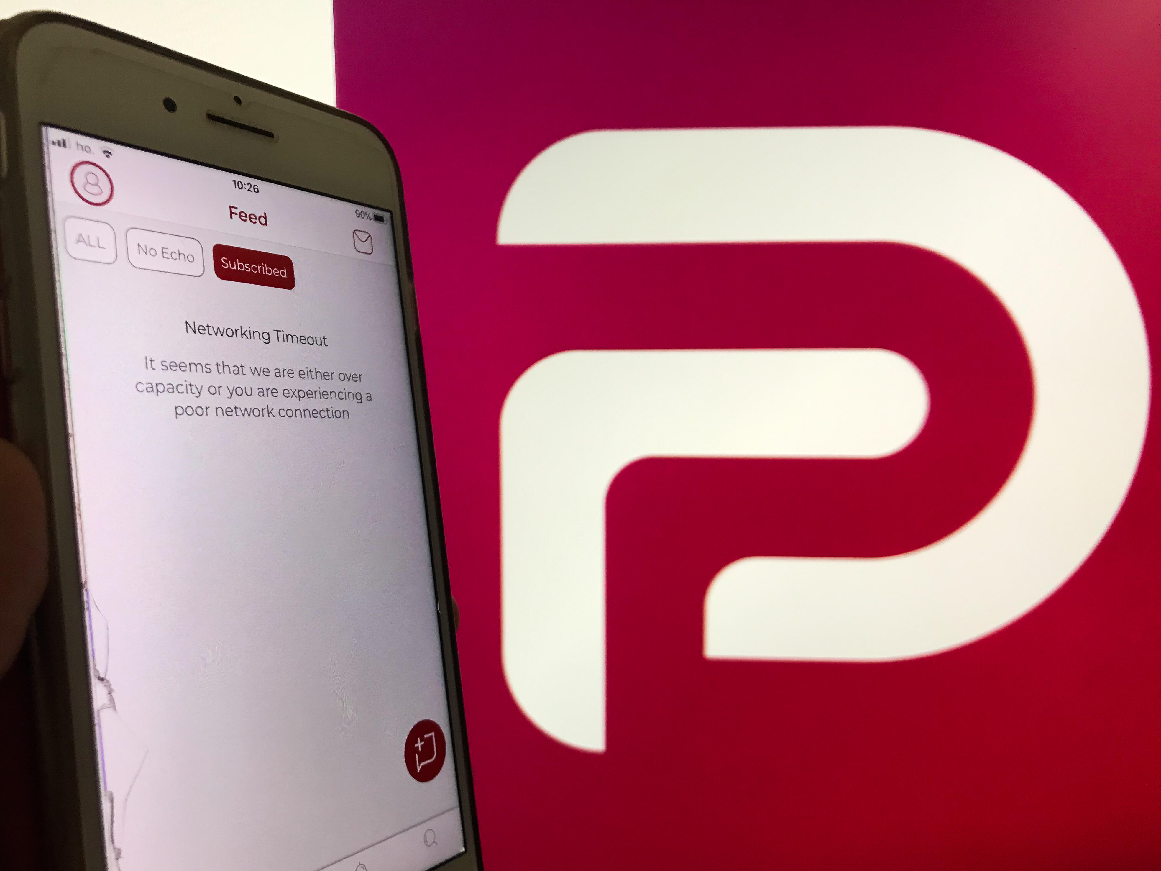 <p>Parler's CEO reportedly said Wednesday its service might never return to the internet since it lost cloud hosting services from Amazon.</p>