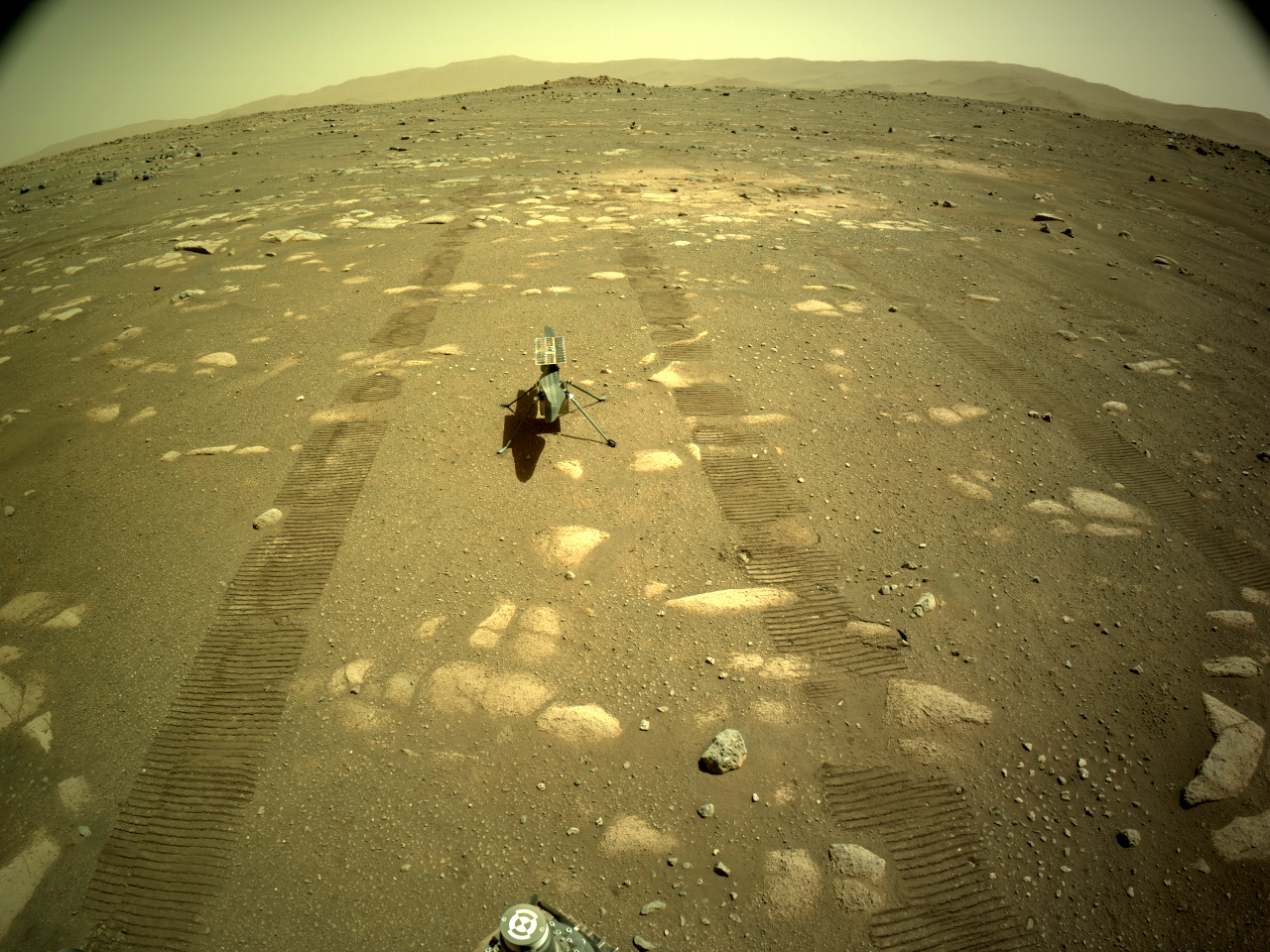 NASA's Mars Perseverance rover acquired this image using its onboard Right Navigation Camera
