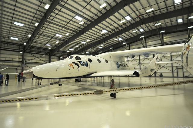 SpaceShipTwo from side