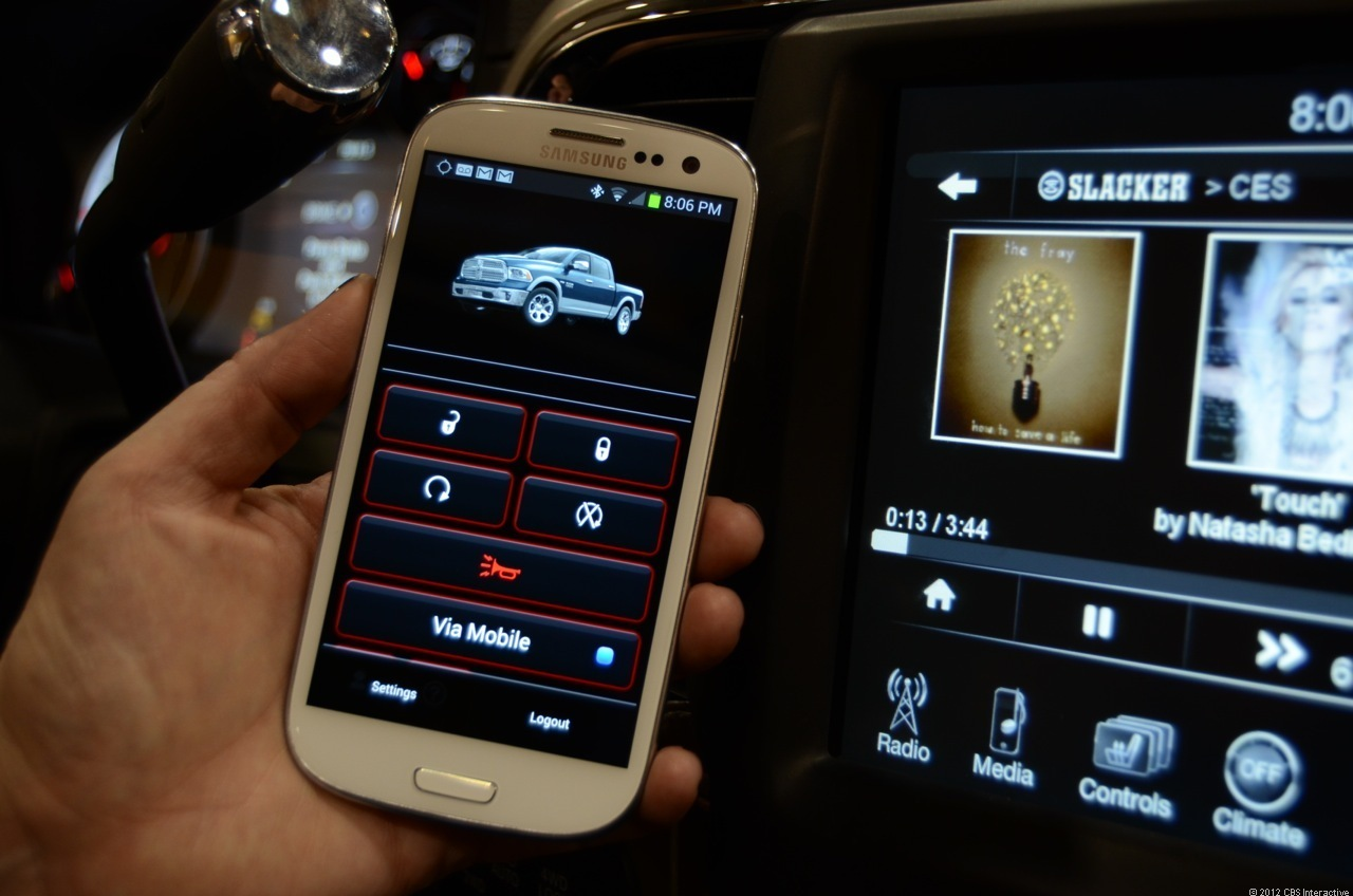 Chrysler's UConnect infotainment system