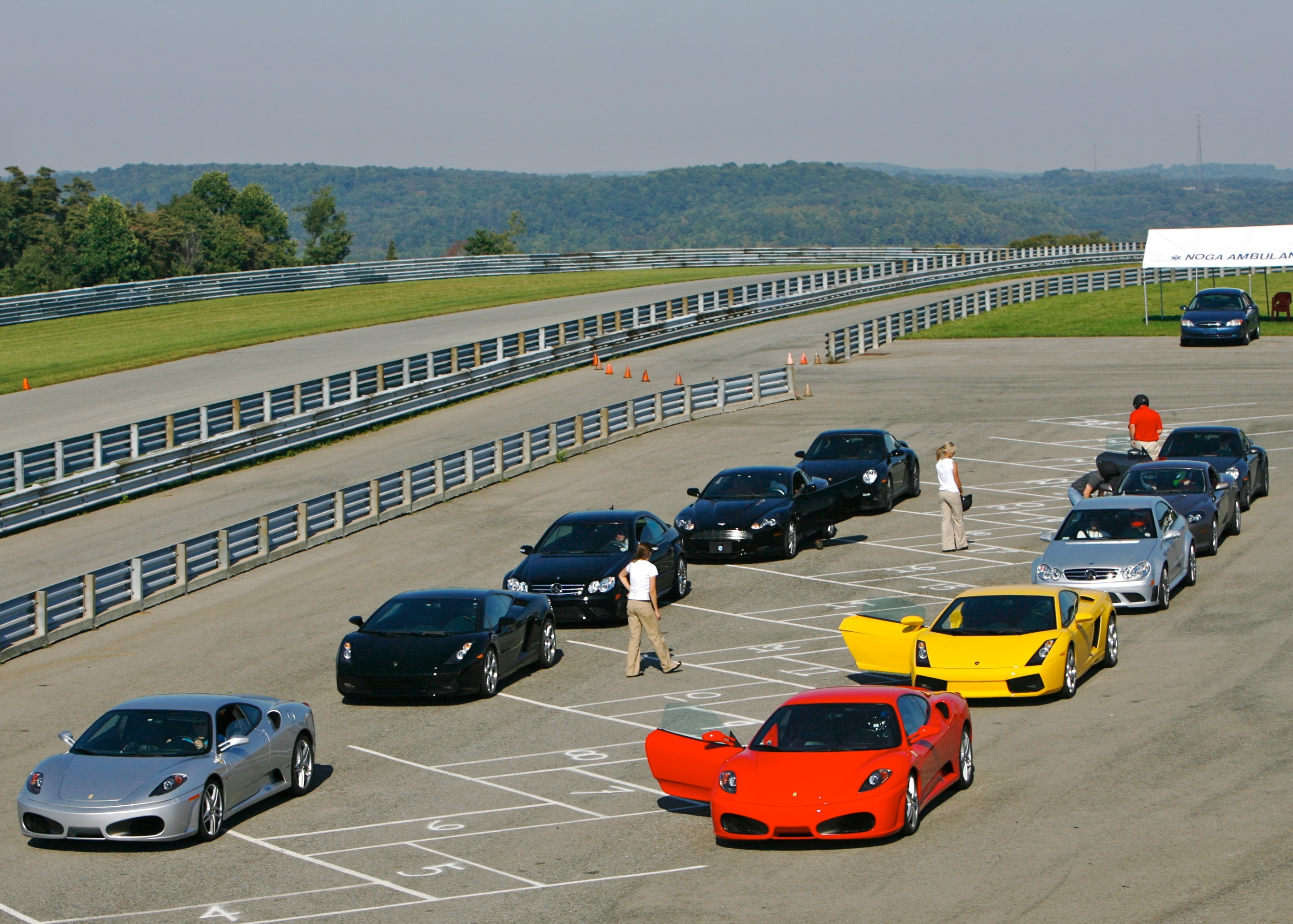 Supercar Life's stable of exotic cars