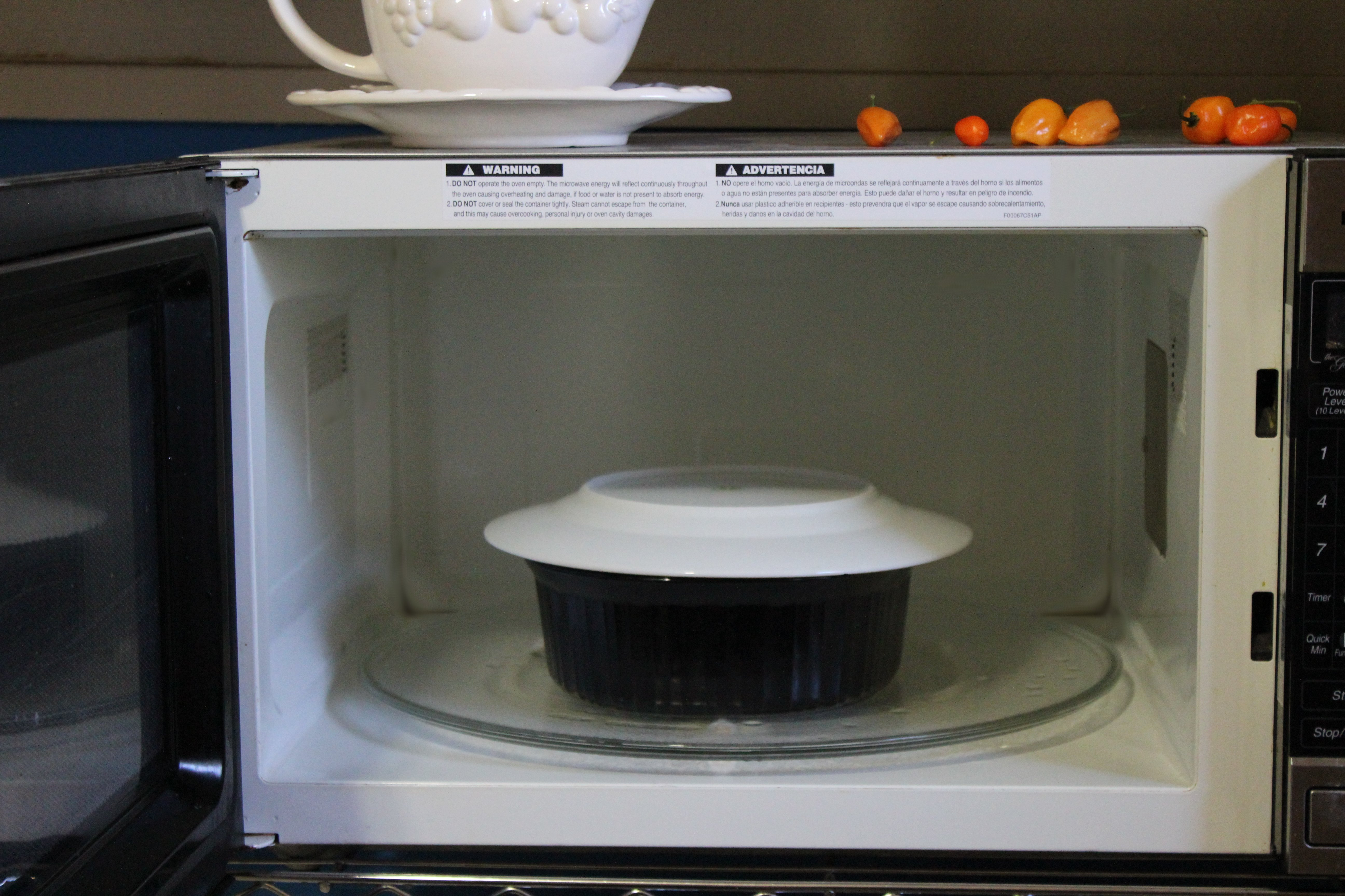how to steam food in the microwave